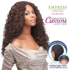 curl in front of hair pic sensationnel synthetic lace front wig empress edge custom lace