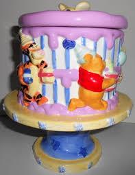 disney welcomes 2000 winnie pooh glazed ceramic birthday cake