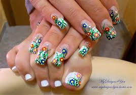Easter Nail Decorations by Spring Easter Nail Art Design Nail Art Gallery