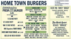Backyard Burger Hours Menu Back Alley Burger