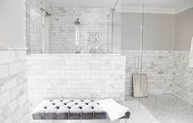 marble tile bathroom ideas interior fabulous glass stall bathroom design with marble subway