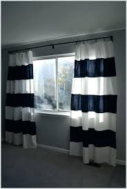 Navy And White Striped Curtains Navy And White Striped Curtains Raham Co