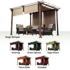 Home Depot Pergola by Universal Designer Replacement Pergola Shade Canopy Ii Garden Winds