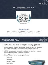09 configuring cisco asa ppt