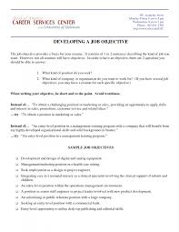 format career objective examples for resume charming examples of