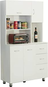 kitchen storage cabinets basicwise kitchen pantry storage cabinet with doors and shelves white