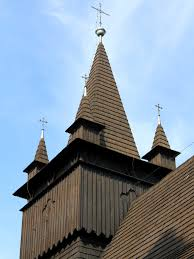 Wooden Roof Finials by St John The Baptist