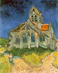 webmuseum gogh vincent van l eglise d auvers sur oise the church at auvers sur oise 1890 220 kb oil on canvas 94 x 74 cm 37 x 29 1 8 in musee d orsay paris