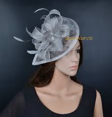 hair accessories melbourne new lt silver hot sinamay fascinator hat for weeding kentucky