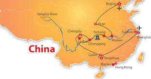 Chongqing China Map by Grand Tour Of China 22 Days U2013 Nexus Holidays