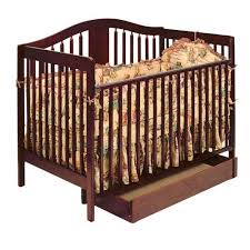 Chelsea Convertible Crib Storkcraft Chelsea 4 In 1 Convertible Crib With Storage Cherry