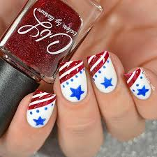 fourth of july nail art stars and stripes nail design 4th of