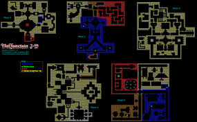 wolfenstein 3d episode 2 floors 1 5 map for game boy advance by