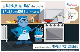 cuisine au gaz plaque cuisson cuisinière gaz cuisine en intérieur butagaz