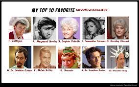 Sitcom Meme - my top 10 meme favorite sitcom characters by thesitcomguru1993 on