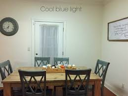 kitchen fluorescent lighting how fluorescent light affects paint colour