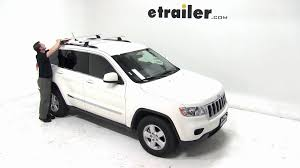 jeep grand cross rails thule aeroblade podium roof rack installation 2012 jeep grand