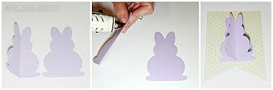 rabbit banner simple easter bunny banner home made interest