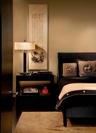 paint colors for small bedrooms with calm brown wall paiting