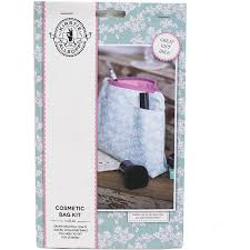 kirstie allsopp cosmetic bag kit hobbycraft