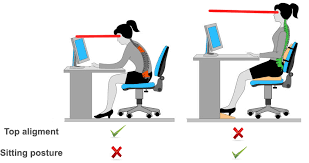 Average Chair Height Ergonomics Why Are Monitors Only At Neck Height By Default
