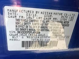 nissan versa rims for sale used 2015 nissan versa note sv hatchback 6 990 00