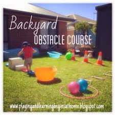 Backyard Obstacle Course Ideas Obstacle Course 2 Pinteres