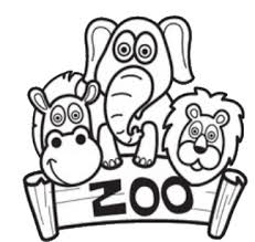 zoo coloring pages preschool zoo coloring pages coloring page