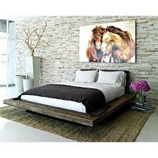 Santos Antique Pine Bed Frame You Wish Your Bar Mitzvah Was This Fabulous Platform Beds