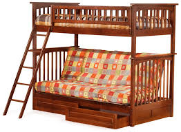 Bunk Bed With Double Futon Roselawnlutheran - Futon bunk bed cheap