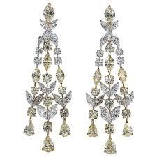 chandelier earring diamond chandelier earring in platinum ac289leganceammerman