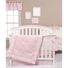 Kohls Crib Bedding by Trend Lab Pink Sky Nursery Coordinates