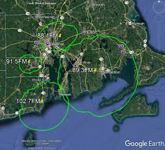 map all signal map rhode island radio