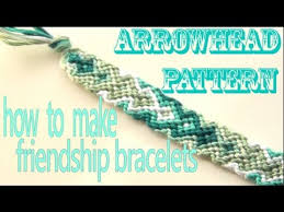 make friendship bracelet patterns images How to make friendship bracelets arrowhead pattern jpg