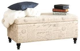 storage bench fabric armed fabric storage ottoman bench dark teal