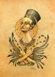 queen nefertari tattoo nefertiti by lab 27 deviantart com on deviantart art pinterest