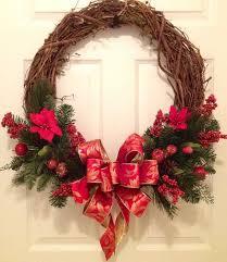 Christmas Wreath Decorations Pinterest by Best 25 Grapevine Christmas Ideas On Pinterest