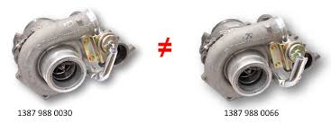 failure of turbocharger in daf with paccar mx340 engine moto