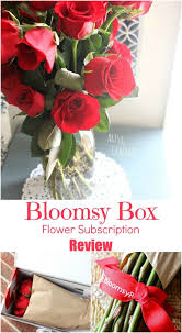 flower subscription bloomsy box flower subscription review
