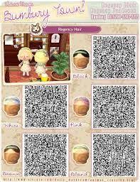 animal crossing new leaf qr code hairstyle resultado de imagen de animal crossing new leaf hair qr codes