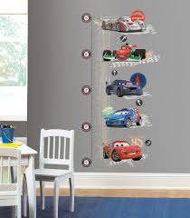 roommates peel stick decals cars 2 lightening mcqueen growth roommates peel stick decals cars 2 lightening mcqueen growth chart wall decor