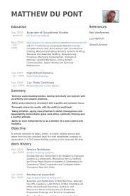 Mechanical Technician Resume Service Technician Resume Samples Visualcv Resume Samples Database