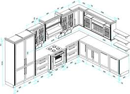 uk kitchen unit dimensions under new ideas kitchen island size