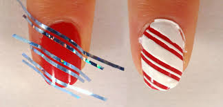 lacquered lawyer nail art blog candy cane lane