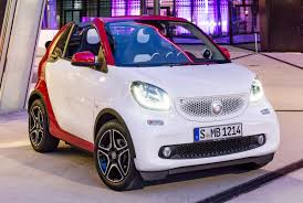 smart car 2016 smart fortwo cabrio revealed debuts in frankfurt
