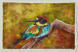 color theory goes to the birds watercolor shizen colortheory