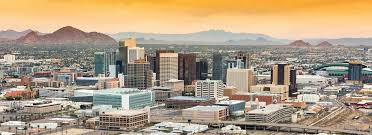 Downtown Phoenix Map by Phoenix Car Rental Low Rates Enterprise Rent A Car