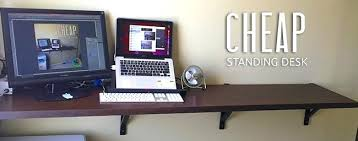 affordable sit stand desk diy stand up desk desk awesome innovative standing desks built with
