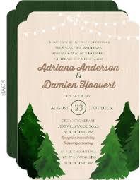 Tree Wedding Invitations Custom Wedding Invitations Personalized Wedding Invites And