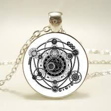 glass necklace images Magic witchcraft 39 image under glass quot necklace jpg